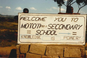 Muonde Trust seeks to realize this slogan from 1985.