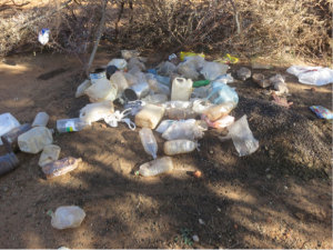 Plastic wastes accumulate in rural communities like Mazvihwa all over the world.  What to do with them?
