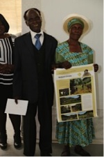 4th Equal Prize Winners, Mr. and Mrs. Gezana