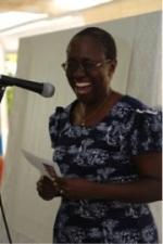 Phiri Award Trust Vice-Chair, Professor Zakhe Mlilo, provides closing remarks