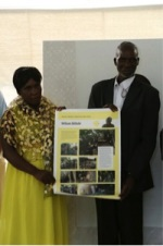2nd Equal Prize Winners, Mr. and Mrs. Wilson Sithole
